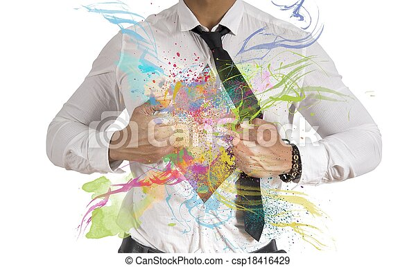 Kreatives Geschäft - csp18416429
