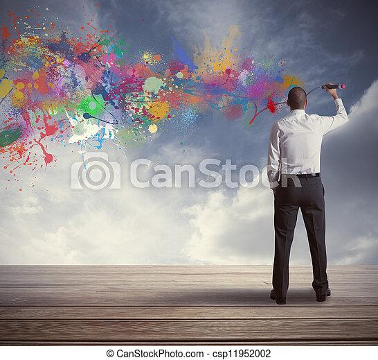 Kreatives Geschäft - csp11952002