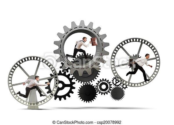 Geschäftsmechanismus - csp20078992
