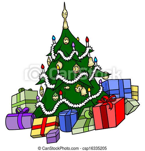 geschenke baum weihnachten weihnachten abbildung baum. Black Bedroom Furniture Sets. Home Design Ideas