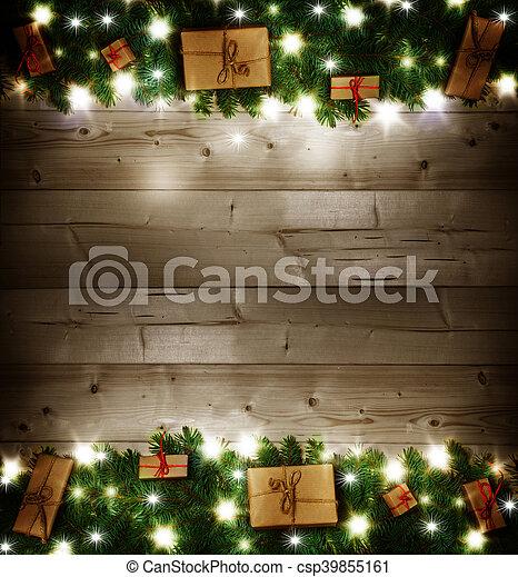 Weihnachtsgeschenke - csp39855161