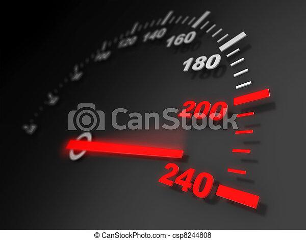 geschwindigkeit - csp8244808