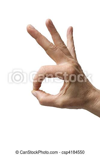 """geste, """"hand - csp4184550"""