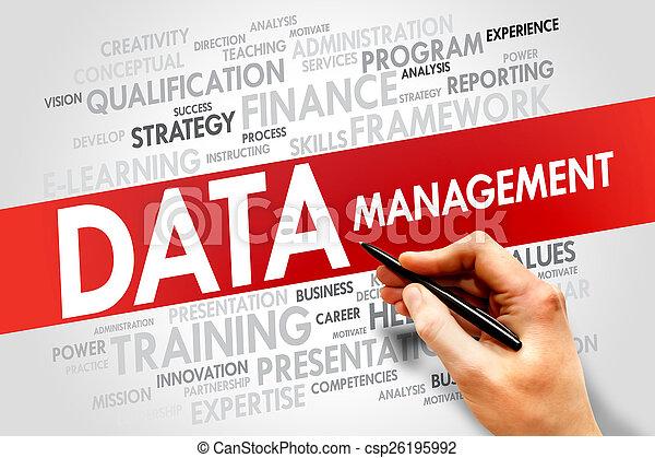 gestion, données - csp26195992
