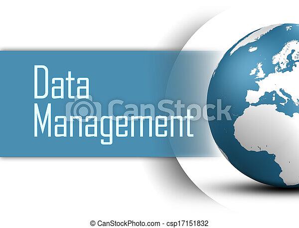 gestion, données - csp17151832