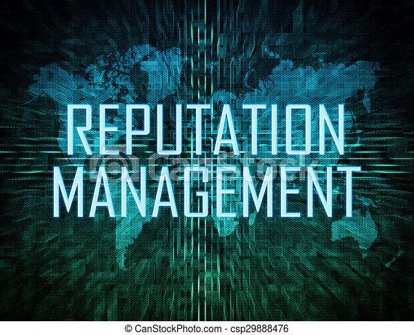 gestion, réputation - csp29888476