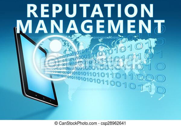 gestion, réputation - csp28962641