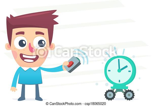 gestion, temps - csp18065020