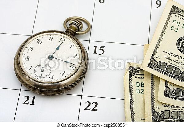 gestion, temps - csp2508551