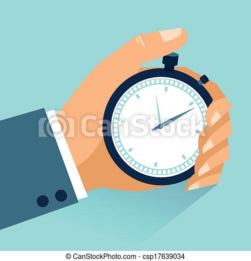 gestion, temps - csp17639034