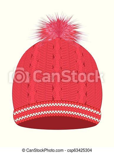 tolle Passform einzigartiger Stil Auschecken gestrickt, rosa, kappe, winter