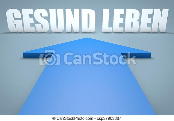 8d00c2ef57 Gesund leben Graphic | csp37903387