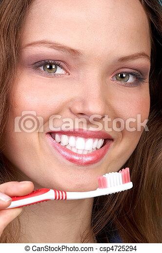 Gesunde Zähne - csp4725294