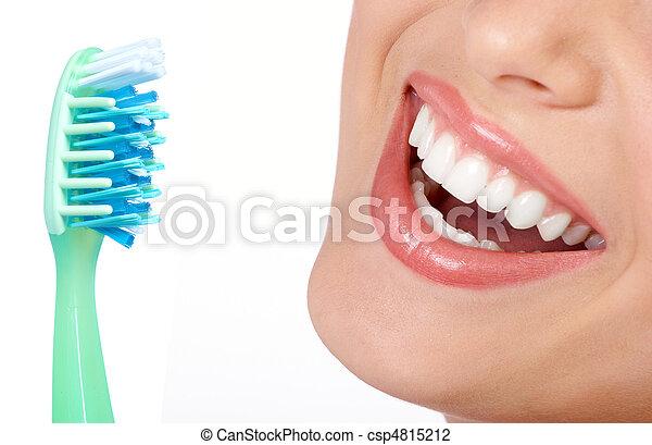 gesunde zähne - csp4815212