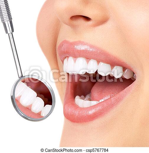 gesunde zähne - csp5767784
