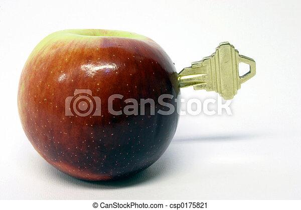 gesundheit, schlüssel - csp0175821