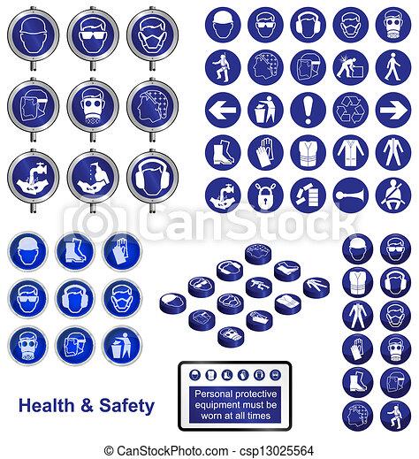 gesundheit, sicherheit - csp13025564