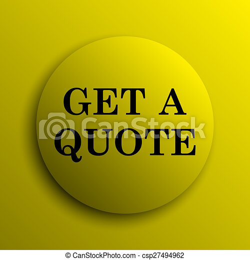 Get a quote icon - csp27494962