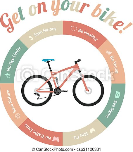 Get on your bike. Advantages of riding a bicycle or bike ...