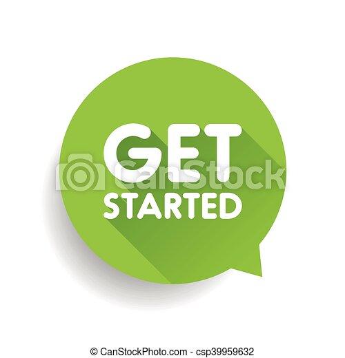 Get started label vector - csp39959632