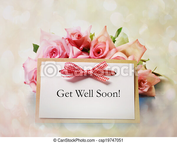Get well soon greeting card hand made get well soon greeting card get well soon greeting card csp19747051 m4hsunfo