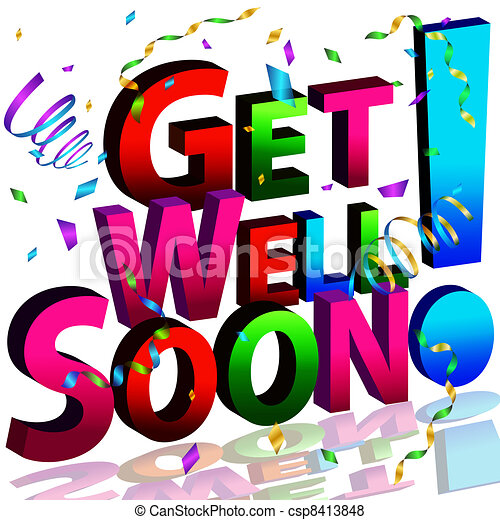 get well soon message an image of a get well soon message