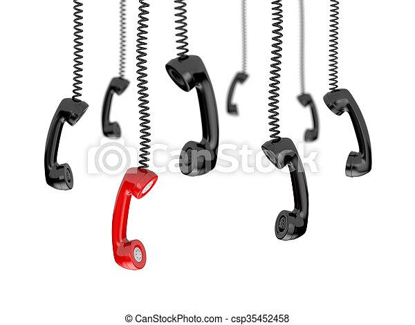 Getting a call - csp35452458