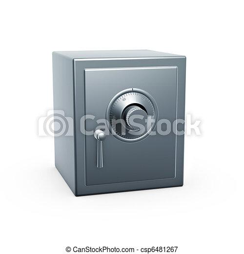 geval, brandkast - csp6481267