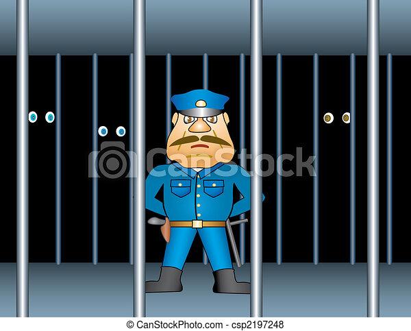 gevangenis, proctor. - csp2197248