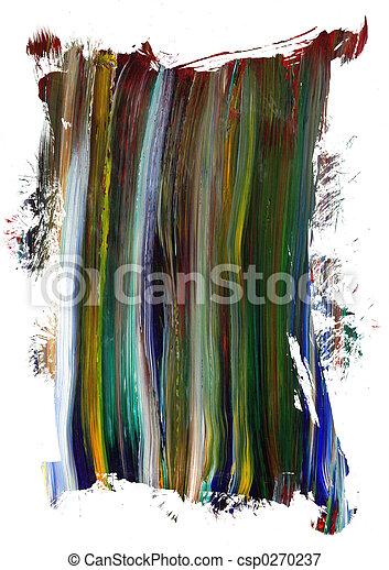 geverfde, doek, frame, element - csp0270237