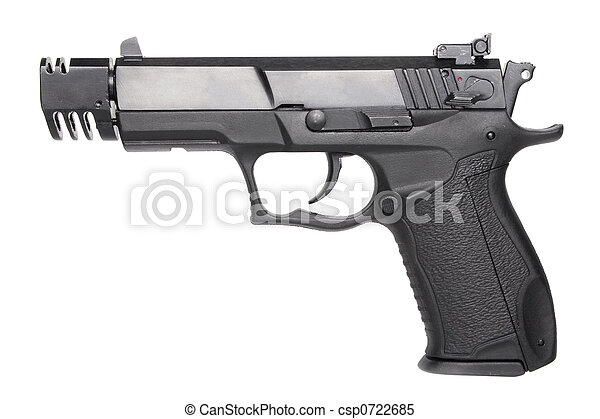 geweer, hand - csp0722685