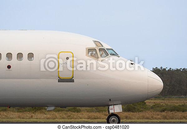 gewerblich, düsenverkehrsflugzeug - csp0481020