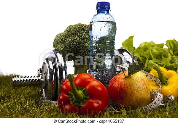 gewicht aderlating, fitness - csp11055137