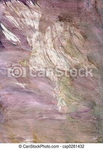 gewissen, watercolour, textuur - csp0281432