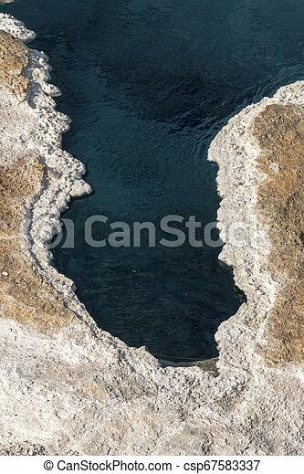 Geyser in Yellowstone National Park - csp67583337