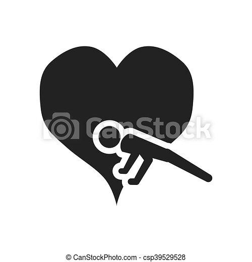 gezond hart, ontwerp, levensstijl - csp39529528