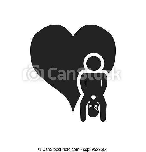 gezond hart, ontwerp, levensstijl - csp39529504