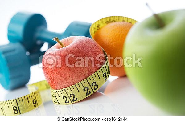 gezond leven, eten - csp1612144