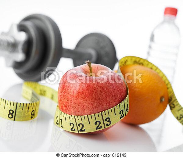 gezond leven, eten - csp1612143