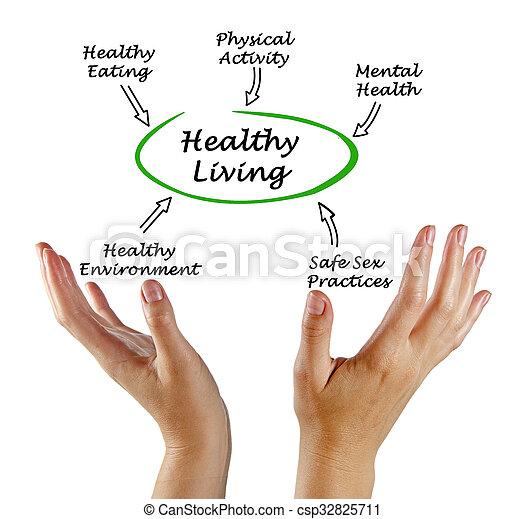 gezond leven - csp32825711