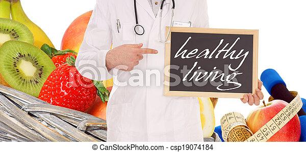 gezond leven - csp19074184