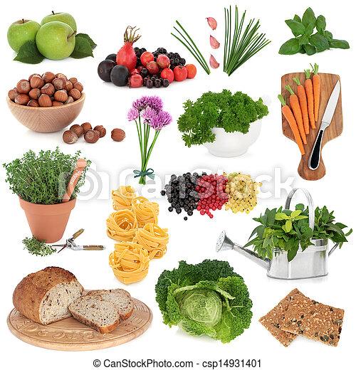 gezond voedsel, sampler - csp14931401