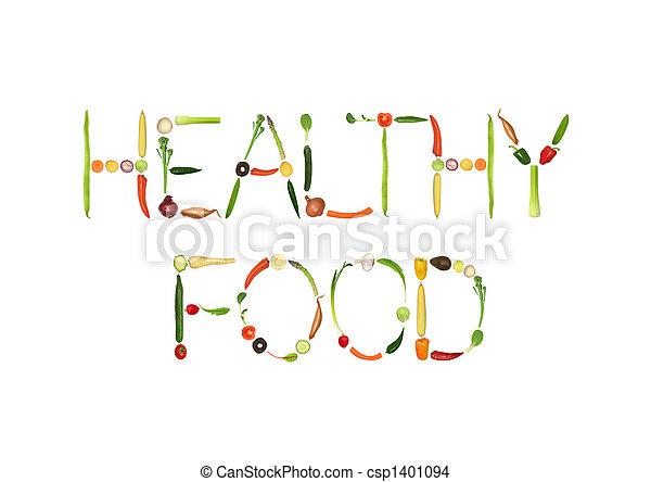 gezond voedsel - csp1401094