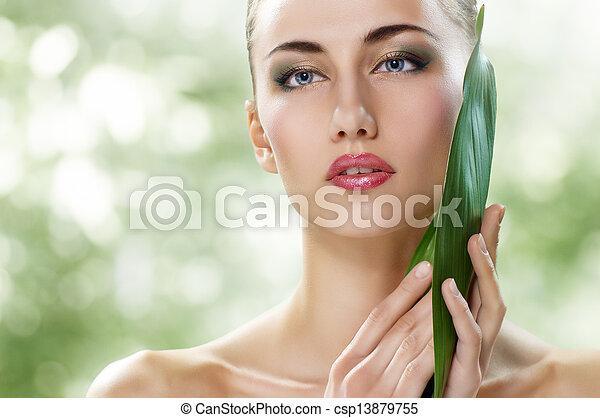 gezonde , gezicht - csp13879755