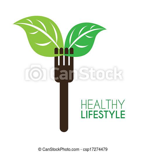gezonde levensstijl - csp17274479
