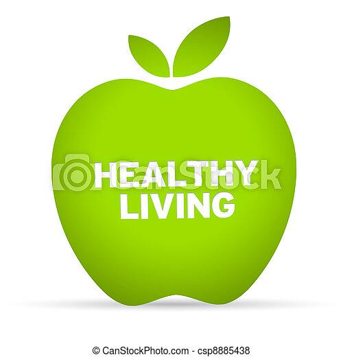 gezonde levensstijl - csp8885438