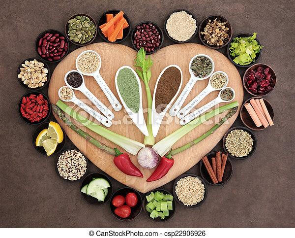 gezonde , voeding - csp22906926