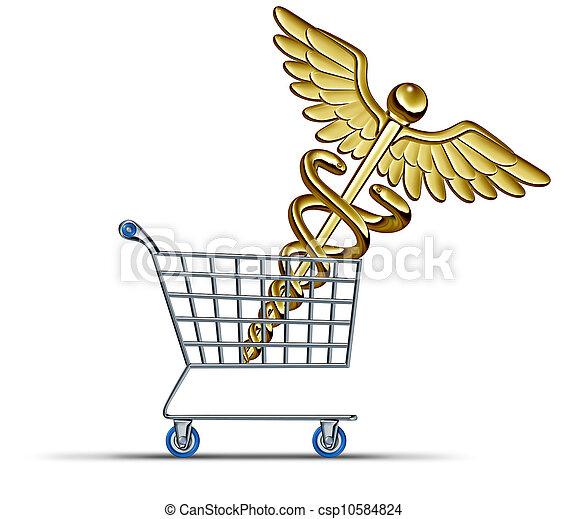 gezondheid verzekering, aankoop - csp10584824