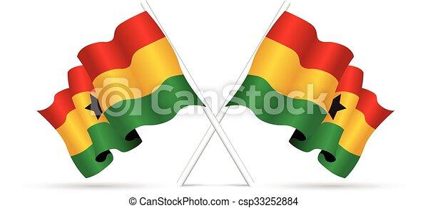 ghana flag - csp33252884