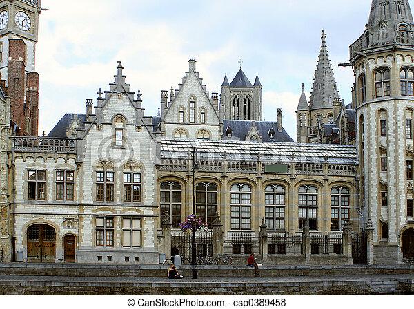 Ghent architecture - csp0389458